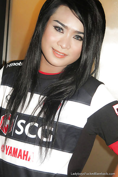 Gorgeous young ladyboy Aum 2..