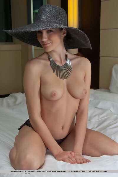 European solo girl Vanda B..