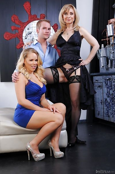 Nina Hartley & Britney Young..